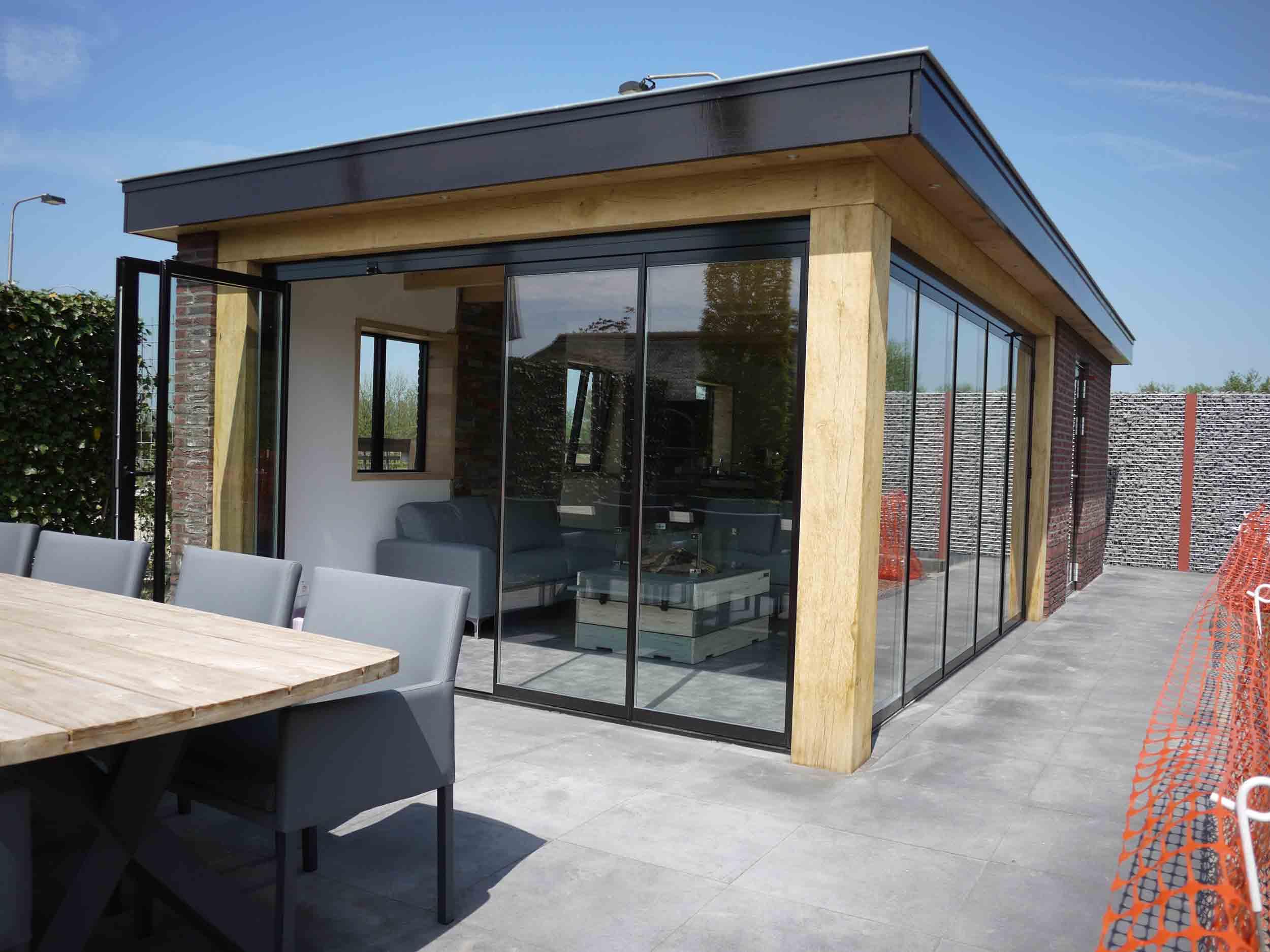 Openslaande deuren of schuifpui elegant zijn heel for Top deuren